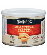 Nosh & Co Roasted & Salted Peanuts Tin