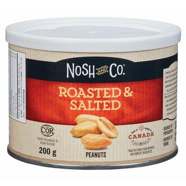Nosh & Co Roasted & Salted Peanuts Tin