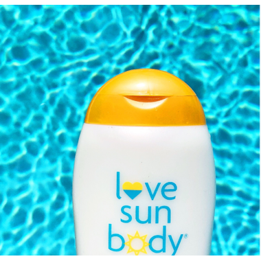 love sun body Natural Mineral Sunscreen SPF 30 Lightly Scented