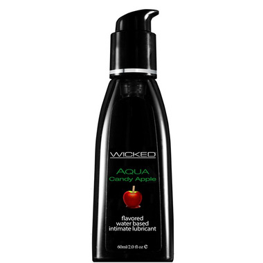 Wicked Sensual Care Aqua Candy Apple Flavored Lube