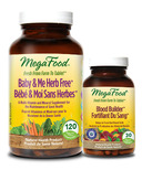 MegaFood Baby & Me Herb Free Multi-Vitamin and Bonus Blood Builder