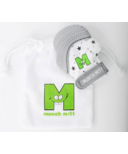 Munch Mitt Teething Mitten Grey