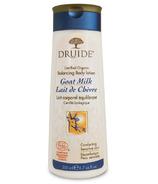 Druide Laboratories Goat Milk Body Lotion