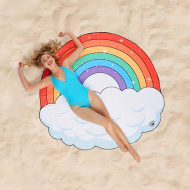 BigMouth Inc. Rainbow Beach Blanket