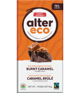 Alter Eco Dark Salted Organic Chocolate Burnt Caramel