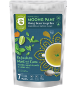 Moong Pani Soup-Tea Refreshing Mint And Lime With Turmeric