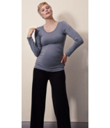 Boob Flatter Me Long Sleeve Top Smoke Size S-XL
