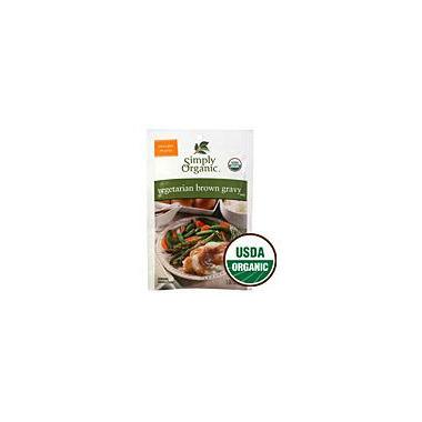 Simply Organic Vegetarian Brown Gravy Mix