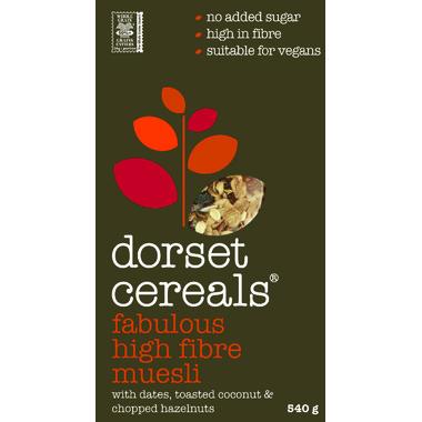 Dorset Cereals Fabulous High Fibre Muesli