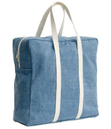 Baggu Safari Bag in Washed Denim