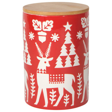Now Designs Large Canister Yuletide