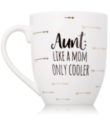 Pearhead Aunt Like a Mom Only Cooler Mug