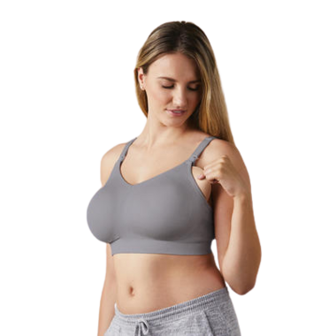 Bravado Designs The Body Silk Seamless Nursing Bra Silver Belle