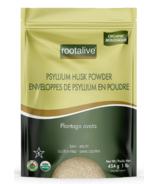 Poudre d'enveloppe de pysllium biologique Rootalive