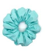 All Tied Up Aquamarine Scrunchie