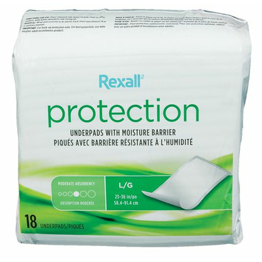 Rexall Disposable Underpad 23 x 36
