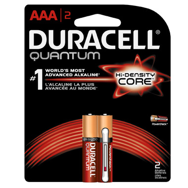 Duracell Quantum Alkaline AAA Batteries