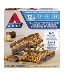 Atkins Snack Bars Peanut Butter Fudge Crisp 5-Pack