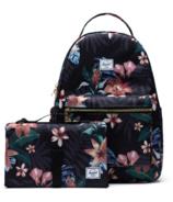 Herschel Supply Nova Sprout Backpack with Change Mat Summer Floral Black