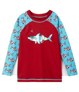 Hatley Snorkeling Sharks Long Sleeve Rashguard