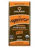 zazubean Squeeze Orange & Ginger 70% Dark Chocolate