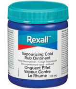 Rexall Vapourizing Cold Rub Ointment