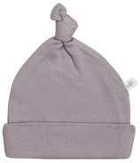 Perlimpinpin Solid Bamboo Knotted Hat Plum
