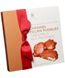 Saxon Chocolates Milk Chocolate Caramel Pecan Puddles Box