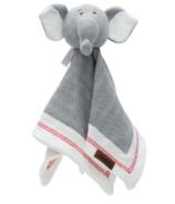 Juddlies Combinaison de nuit Organic Lovey Elephant Gris bois flotté