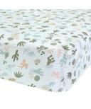 Perlimpinpin Cotton Muslun Fitted Crib Sheet Cactus
