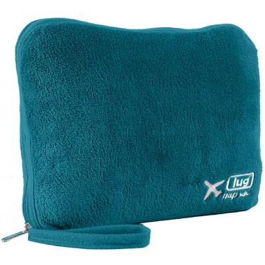 Lug Nap Sac Blanket + Pillow Ocean Teal