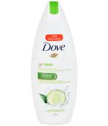 Nettoyant pour le corps Go Fresh Soins fraîcheur au parfum de concombre et thé vert de Dove
