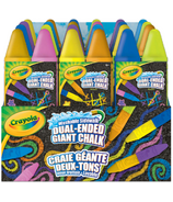 Crayola Dual Ended Giant Sidewalk Chalk