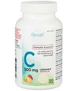 Rexall Vitamin C 500mg Chewable Tropical