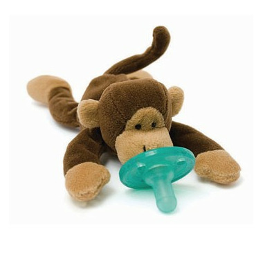 WubbaNub Monkey Plush Pacifier