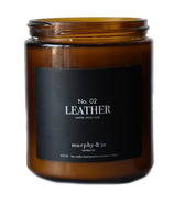 Murphy & Jo Candle Co. Soy Candle Leather