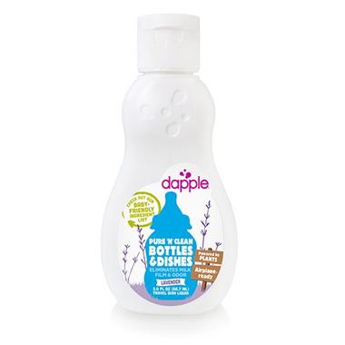 Dapple Baby Bottle & Dish Liquid Travel Size