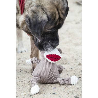 Hugglehounds Knotties Super Sized Sock Monkey Dog Toy
