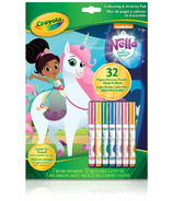 Crayola Nella the Princess Knight Colouring & Activity Book