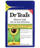 Dr Teal's Super Moisturizer Avocado Oil Mineral Soak