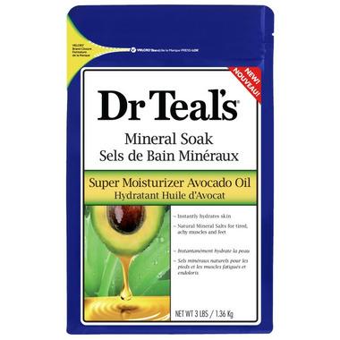 Dr Teal\'s Super Moisturizer Avocado Oil Mineral Soak