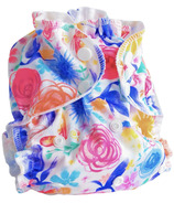 AppleCheeks One Size Cloth Diaper Cover Petal Faster