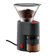 Bodum Bistro Electric Burr Grinder Black