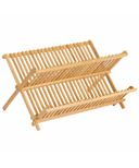 iDesign Formbu Dish Drying Rack Natural Bamboo