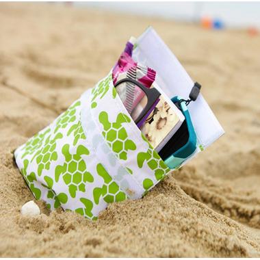 Lunchskins Green Turtle Sandwich Bag