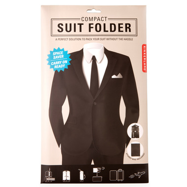 Kikkerland Suit Folder