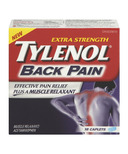Tylenol Back Pain Extra Strength Caplets