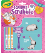Crayola Scribble Scrubbie Pets Pack Bunny & Guinea Pig