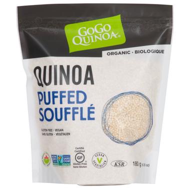 GoGo Quinoa Royal Quinoa Puffed