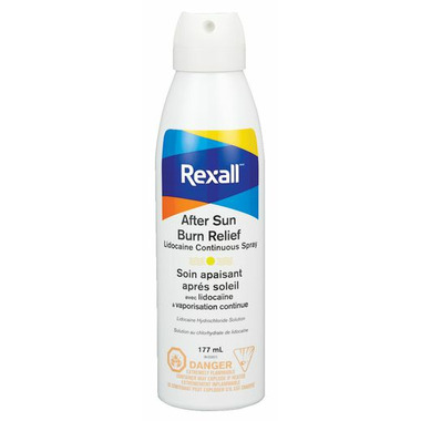 Rexall After Sun Burn Relief Spray